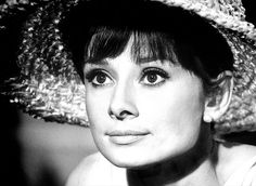 Audrey Hepburn with big hat, Paris When It Sizzles, 1963. Photo Bob Willoughby
