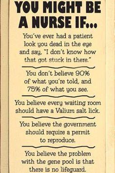 ER Nurse Humor