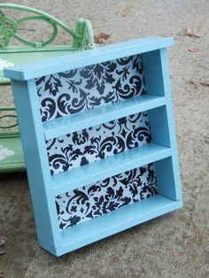 Little Blue shelf..