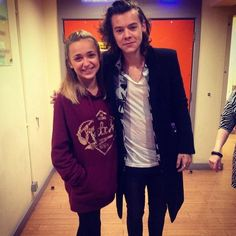 Harry and Lauren Platt last night. SHE HAS AN AWESOME VOICE LOVE HER PERFORMANCES ON THE X FACTOR!
