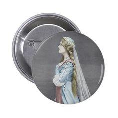 #vintage - #Lily Brayton Pinback Button
