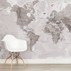 Our world map wallpaper helps create an amazing world map mural in any room. Inspiring you to live beyond your own four walls.