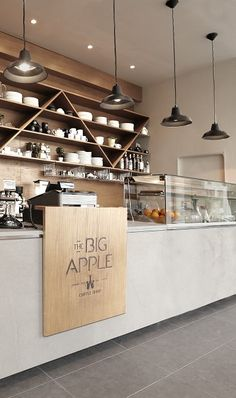 WAN INTERIORS:: Big Apple Café by Aris Architects in Tunis