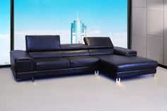 Leandro Modern Leather Sectional Leather Living Room Furniture, Living Room Sofa, Leather Sectional, Sofa Set, Couch, Modern Sofa, Home Decor, Modern Couch, Decoration Home