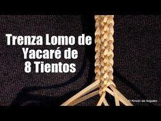 """(1) Lomo de yacaré de 8 tientos """"El Rincón del Soguero"""" - YouTube"""