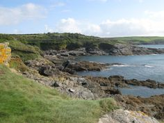 The Quiet Coastline of the South West Coastal Path in Cornwall at Sydney Cove  http://www.walksandwalking.com/2011/06/walks-and-walking-sydney-cove-cornwall-south-west-coastal-path-walking-route/