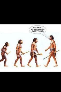 Wanneer was de mens nog het slimste dier op aarde??  :-)