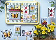 Leisure Arts - Love My Garden Cross Stitch Pattern ePattern, $4.99 (http://www.leisurearts.com/products/love-my-garden-cross-stitch-pattern-digital-download.html)