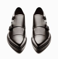 What's Trending Now – 34 Summer Outfits Ideas Acne Studios – Penn Black – Double Monk Strap The Best of street fashion in Mode Shoes, Men's Shoes, Shoe Boots, Dress Shoes, Shoe Bag, Shoes Men, Dress Clothes, Black Shoes, Fashion Shoes