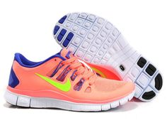 New Womens NIKE 5.0 Free Running Shoes Orange Yellow are beaut