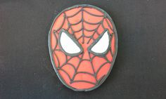 6 Hand Decorated Spiderman Cookies
