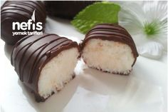The Easiest Cocostar (In 10 Minutes) – Delicious Recipes - Pastry Chocolate Balls Recipe, Chocolate Flavors, Pastry Recipes, My Recipes, Cake Recipes, Chocolates, Cake Recipe Using Buttermilk, Beste Brownies, Small Baking Dish