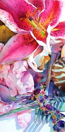 Tracy Lewis | WATERCOLOR | Silver Lily
