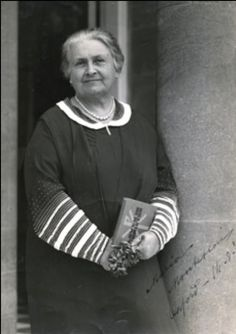 Maria Montessori ~ one of my heroes