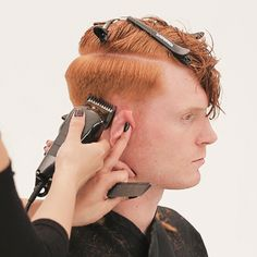 Men's Overdirected Clipper Cut from TONIandGUY - Behindthechair.com Simply Hairstyles, Young Mens Hairstyles, Men's Hairstyles, Latino Haircuts, Haircuts For Men, Mens Clipper Cuts, Toni And Guy Salon, Mens Hair Clippers, Super Short Hair