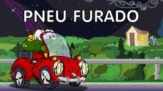 Sapo Brothers em: Pneu furado - Piada infantil em desenho animado brasil...