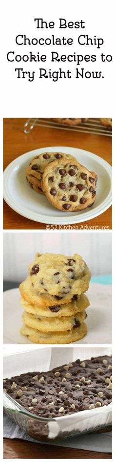 "<p>Are you ever looking for that perfect chocolate chip cookie? This has crisp edges and a chewy middle. <a href=""http://bit.ly/1KMW6mt"">Get this recipe</a>.</p>"