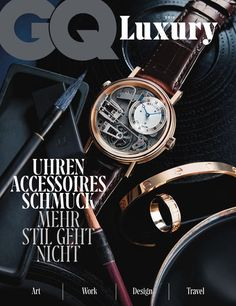 Bethge's publication | GQ Luxury. July 2016.