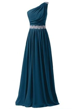 Sunvary 2014 One Shoulder Appliqued Chiffon Bridesmaid Dresses Prom Gowns Long- US Size 17W- Dark Teal Sunvary http://www.amazon.com/dp/B00KIIIEHU/ref=cm_sw_r_pi_dp_E1mOub1Q87YAW