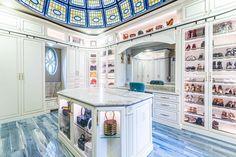 Custom Closets | Closet Organization Design | Closet Factory Diy Master Closet, Luxury Closet, Custom Closets, Closet Designs, Boutique, Closet Organization, Dressing Room, Room Inspiration, Home Appliances