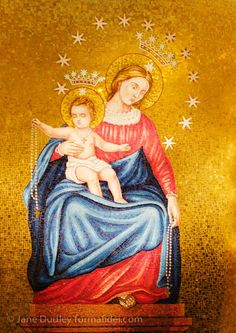 Our Lady of Pompeii, from the Basilica of the National Shrine of the Immaculate…