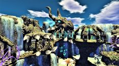 come and immerse yourself in a world full of fascination and fantasy! Let yourself be inspired, let your soul dangle! Fantasy, Second Life, Mount Rushmore, Creatures, Explore, Mountains, Taxi, World, Den