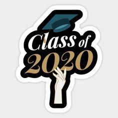 Graduation Decorations Discover Class Of 2020 Hat Toss White - Class Of 2020 Gift Idea - Sticker Graduation Party Desserts, Diy Graduation Gifts, Graduation Stickers, Graduation Decorations, Graduation Party Decor, Grad Parties, Graduation Centerpiece, Graduation Ideas, Graduation Images