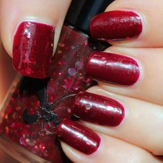 Jindie Nails Red Velvet Revolver