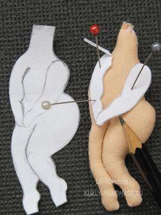 Мастер-класс и выкройка броши-куколки Монро по иллюстрациям Евгении Гапчинской. — КУКЛА-МОДА-ЛЮКС
