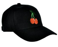Sexy Cherry Hat Baseball Cap Rockabilly Tattoo Clothing