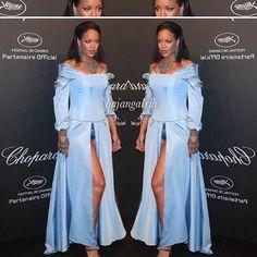 Rihanna at CANNES film festival @chopard #canes2017 #bajangalrih #pleasenoticemerihanna I got #madluvforjah @badgalriri @badgalriri #rihanna #rihannanavy #riri #bim #bae #barbados #246 #islandgyal #islandtingz #caribbean #navy #navyRDie #navyfam @badgalriri @badgalriri #queenrih #DefJam #R8iscoming #selfie #caribbeanspice  #Navyforlife #R8 #fenty #rihannaforchopard