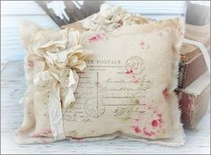 shabby chic crafts on pinterest | Lavender sachet packets | Shabby chic craft ideas