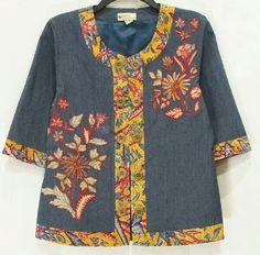 dea Batik Fashion, Ethnic Fashion, African Fashion, Blouse Batik Modern, Plus Sise, Kids Frocks Design, Curvy Girl Outfits, Mode Boho, Frock Design