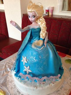 Disneys Frozen Cake Ideas via lena atkinson Thats clever