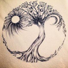 Tree Of Life Tattoo – Picture Ideas Tree Of Life Tattoo – Über 300 Bildideen This image has get. Side Tattoos, Trendy Tattoos, Body Art Tattoos, New Tattoos, Tattoos For Guys, Cool Tattoos, Tatoos, Tattoo Art, Tattoo Life