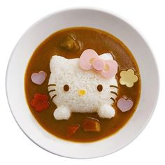 Hello kitty curry