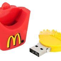 McDonalds French Fries Design USB Flash Drive - Im like crying oh my god Mcdonalds, Usb Drive, Usb Flash Drive, Objet Wtf, Accessoires Iphone, Cute Stationary, Usb Gadgets, Cute School Supplies, Cool Technology