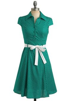 Hepcat Dress in Clover, $49.99