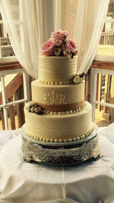 Scraped cake