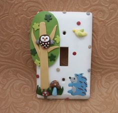 Already on my wall! With matching fan pulls and outlet covers. LOVE!
