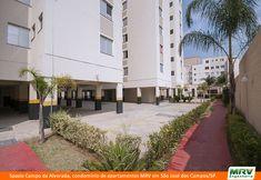 Paisagismo do Campo da Alvorada. Condomínio fechado de apartamentos localizado em São José dos Campos / SP.