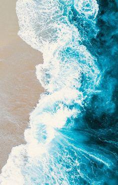 Blue Marble Wallpaper, Blue Wallpaper Iphone, Blue Wallpapers, Aesthetic Iphone Wallpaper, Wallpaper Backgrounds, Aesthetic Wallpapers, Waves Wallpaper, Beach Wallpaper, Summer Wallpaper