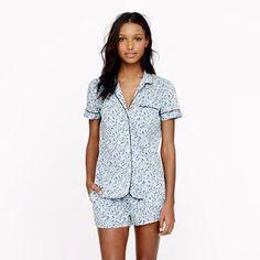 Liberty vintage short pajama set in Phoebe floral - sets - Women's sleepwear - J.Crew