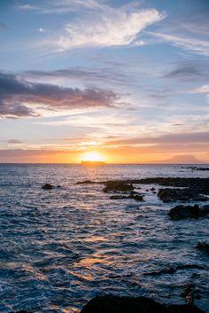 Beautiful sunset on Maui, HI