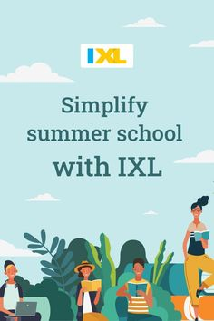 IXL can help you identify and close knowledge gaps in your summer school classroom! See how: School Plan, School Schedule, Summer School, Summer Fun, New Students, School Classroom, Third Grade, Textbook, Curriculum