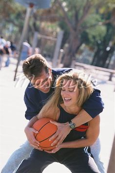 I'Ve never seen love and basketball. Basketball Engagement Photos, Basketball Couples, Basketball Pictures, Love And Basketball, Illini Basketball, Street Basketball, Basketball Socks, Basketball Legends, Basketball Uniforms