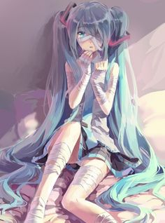 """OMG every where I look it says """"anime"""" it's not anime!!!!! It's vocoloid Hatsune Miku"""