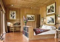 Rustic Bedroom and Allan Shope in Amenia, New York