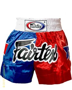 Fairtex Thai Short Patriot Red-Blue cf6f964ac9e1