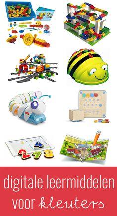 Digitale leermiddelen voor de kleuters 21st Century Skills, Ipad, Kindergarten, Bee, Classroom, Coding, Robots, Projects, Kids